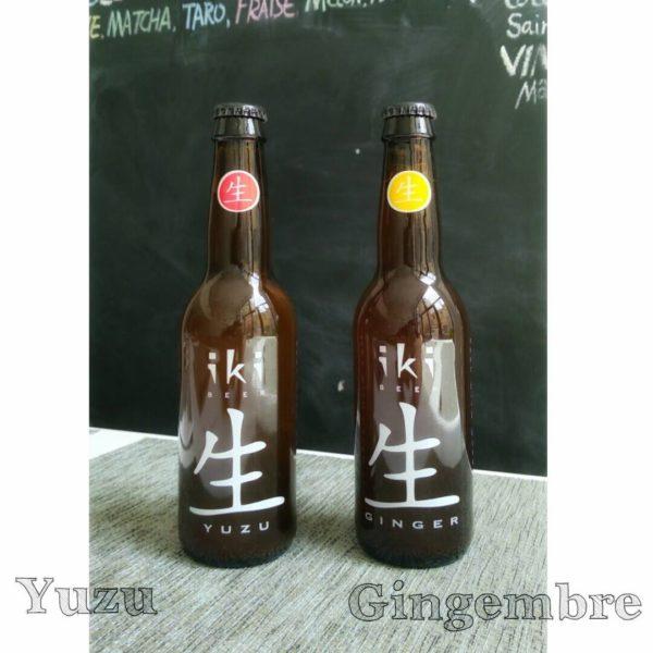 Bières iki bio - Bistro Zakka - Lyon - Bao