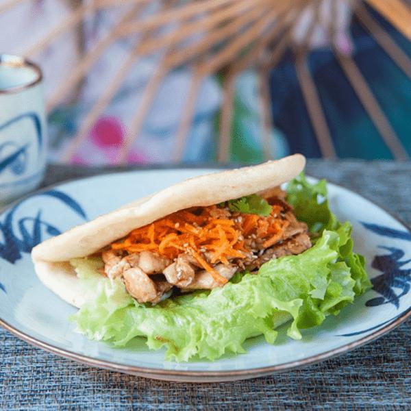 Guabao Poulet - Bistro Zakka - Lyon Bao - Restaurant chinois