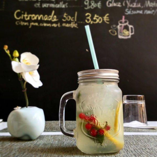 Citronnade - Bistro Zakka - Bao Lyon