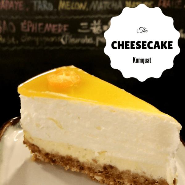 Cheesecake maison - Bistro Zakka - Lyon - Bao