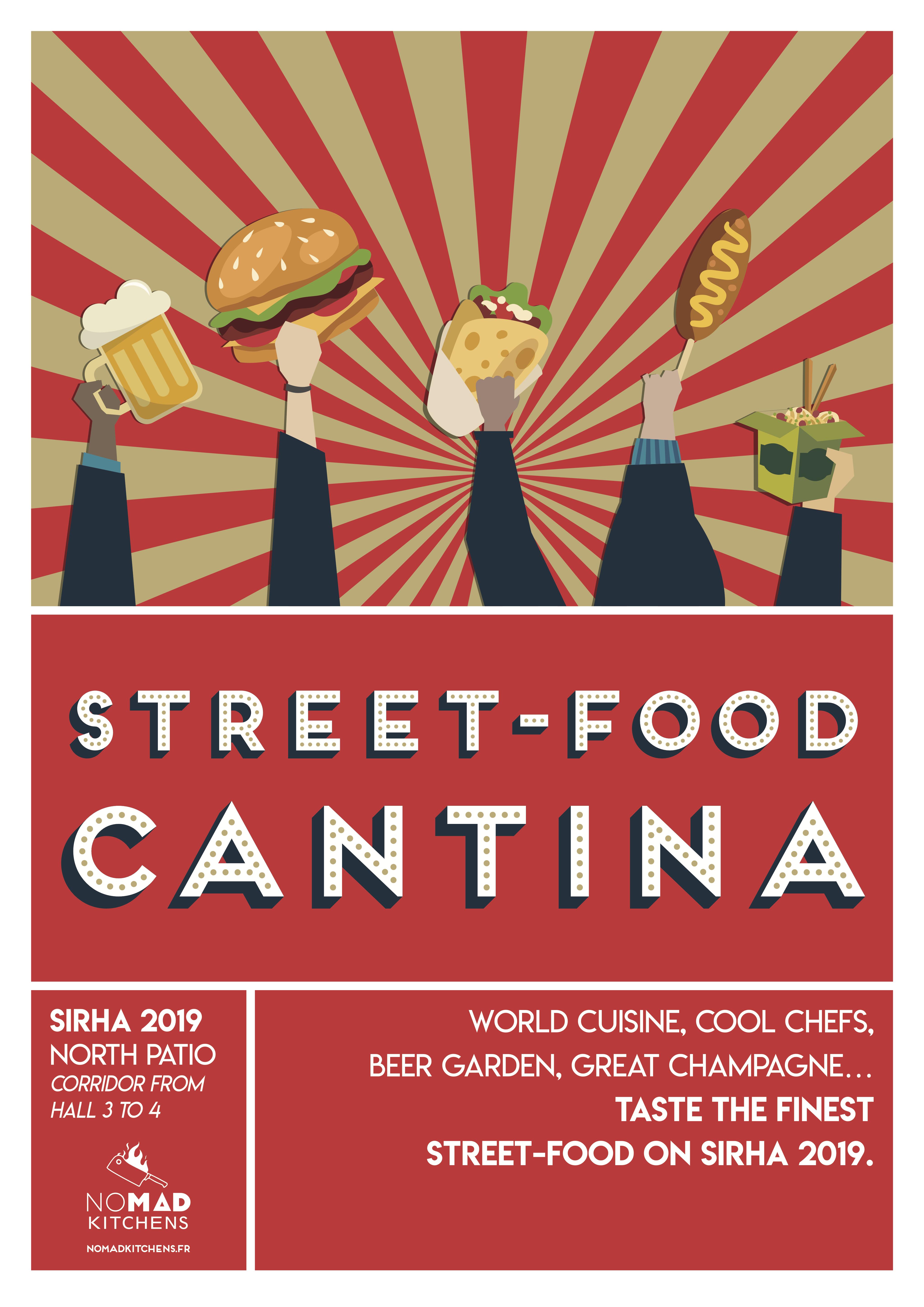 Bistro Zakka - Sirha - Street food cantina - Nomad Kitchen - Food Trucks Gourmet